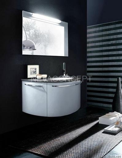 Black bathroom color schemes | Decolover.net