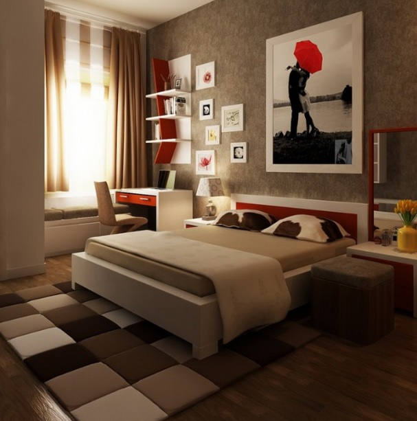 Black Bedroom Ideas Inspiration For Master Bedroom Designs: Black Master Bedroom Decorating Ideas With Black Laminate