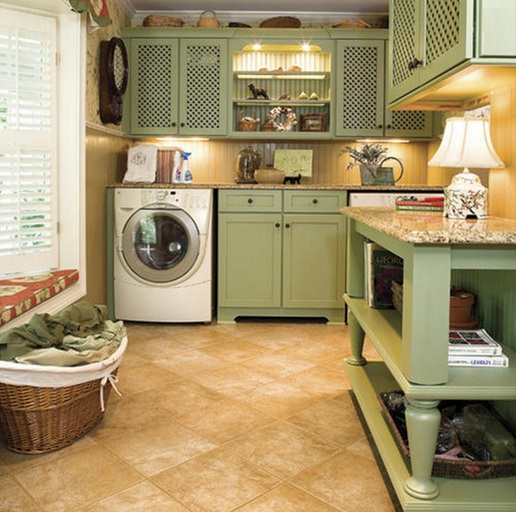 Easy vintage laundry room decor ideas to inspire you for Decorate a laundry room