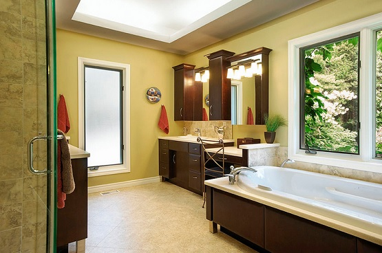 Light Brown Bathroom Color Schemes Ideas