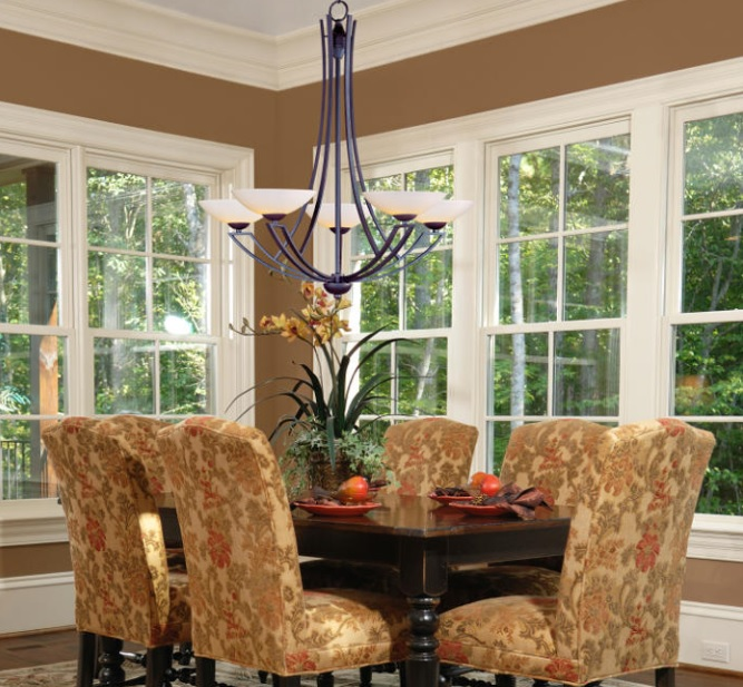trendy pretty dining room chandeliers in farmhouse style pretty contemporary dark mahogany dining room image of on
