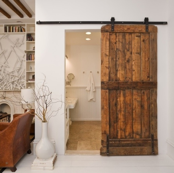 Relatively Amazing and Stylish Bathroom Doors for Small Spaces | Decolover.net PF01