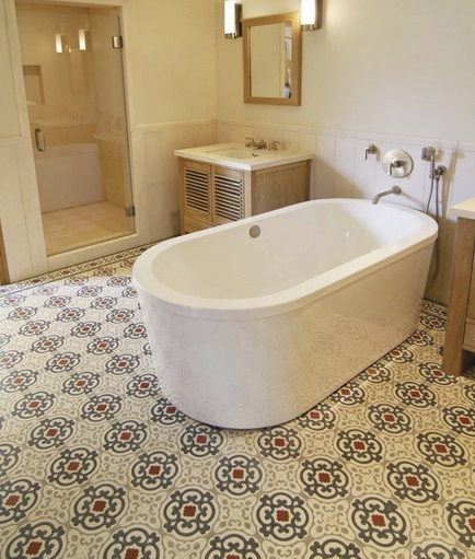 vintage bathroom tile ideas classic mosaic as vintage bathroom floor tile ideas 21228