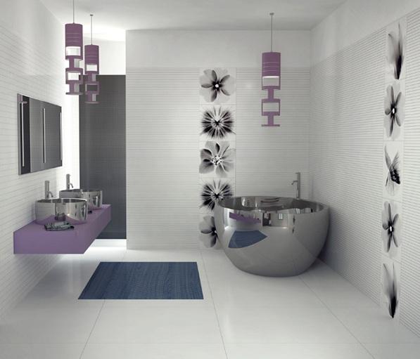 bathroom art ideas  delonho, Bathroom decor