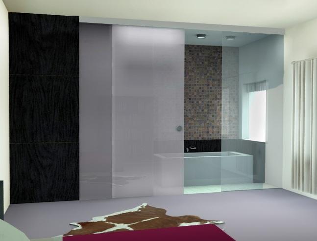 Beautiful Sliding Glass Door Ideas Single Pocket Bathroom Sliding Glass Doors Model