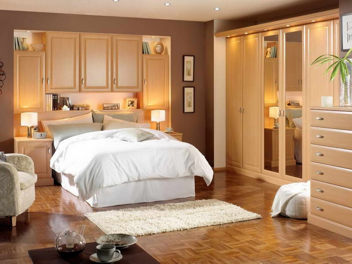 Modern Storage Set Ideas For Master Bedroom