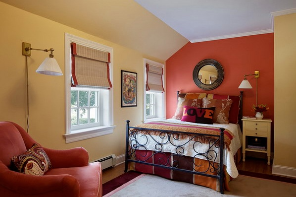 Orange and maroon master bedroom color ideas Master bedroom color ideas 2015