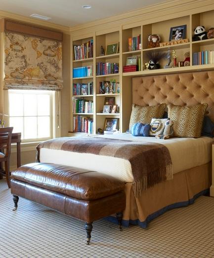 Bedroom Headboard Storage Ideas: Over headboard bedroom storage ideas   Decolover net,