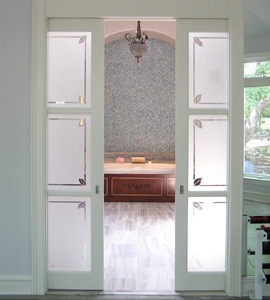 Trendy Bathroom Sliding Glass Doors For Decorating Your