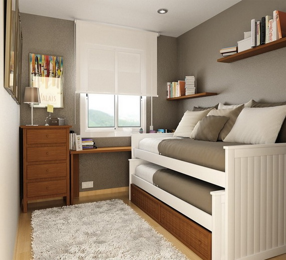 Twin Bed Furniture For Small Bedroom Decorating Ideas | Decolover.Net