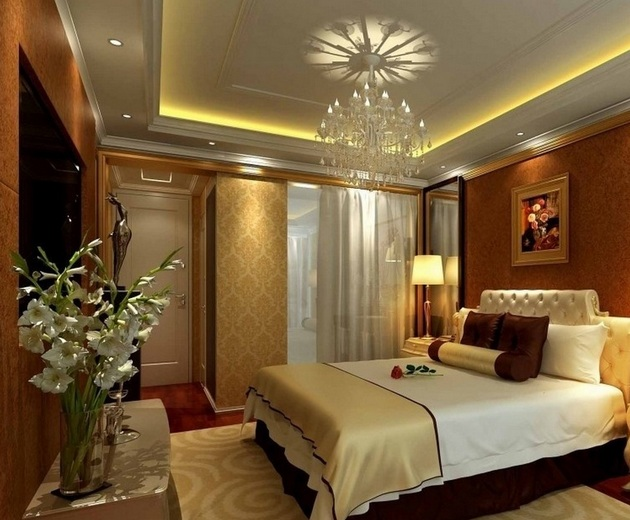 24 impressive bedroom ceiling lights ideas for Beautiful bedroom decor