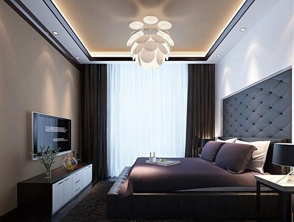 24 impressive bedroom ceiling lights ideas for Minimalist bedroom lighting