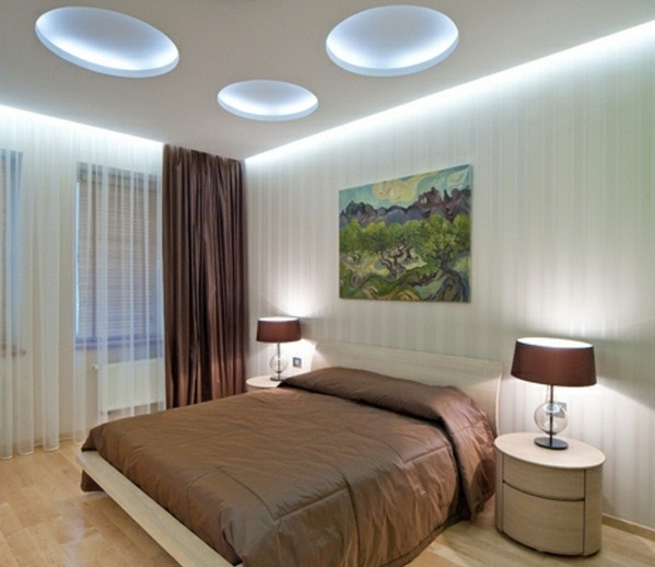 Unique Bedroom Lighting: Unique Hidden Bedroom Ceiling Lights Ideas