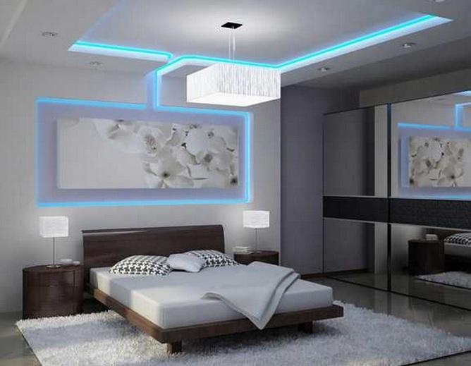 White IKEA bedroom ceiling lights ideas - Decolover.net