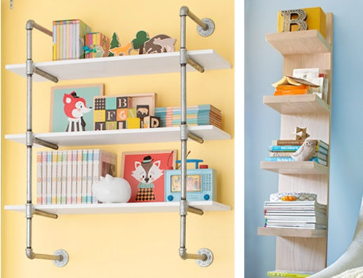 Bedroom organization ideas diy with vertical storage shelves ...
