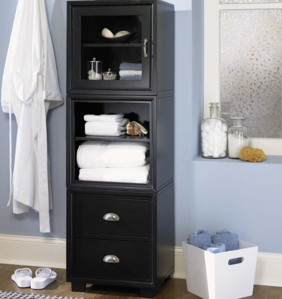 free standing bathroom storage ideas towel storage ideas for functional bathroom and decor 23795