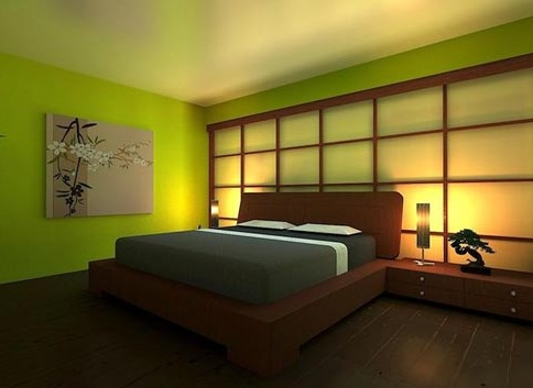 Bedroom interesting japanese style bed 28 images for Japanese bedroom designs