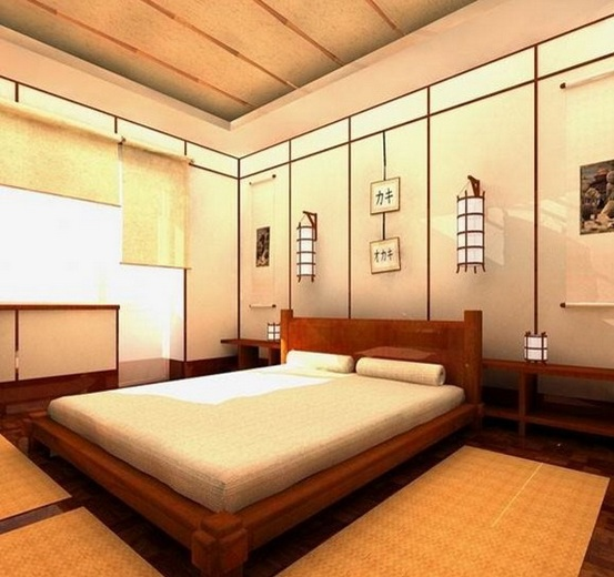 Bedroom Furniture New Japanese Bedroom Decor Bedroom Ceiling Patterns Bedroom Cupboard Designs 2016: 19 Bedroom Japanese Style And Design Inspiration