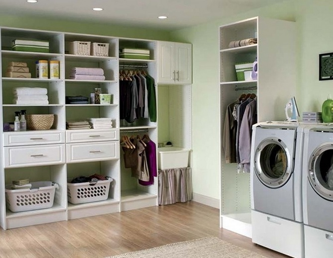 Laundry Room Storage Ideas And Designs To Make The Room Look Neater