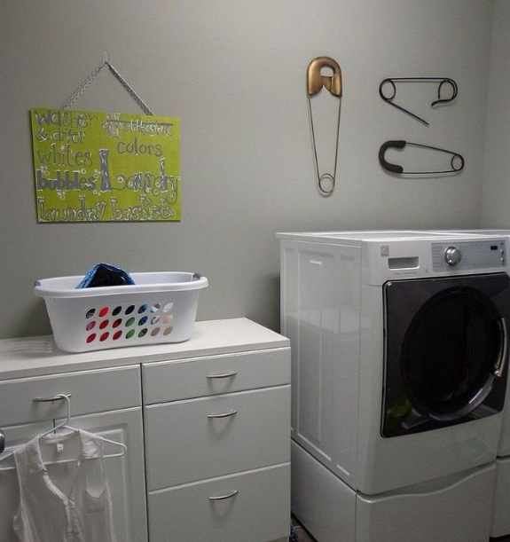 Unique diy wall decor for laundry room wall decor ideas - Laundry room wall ideas ...