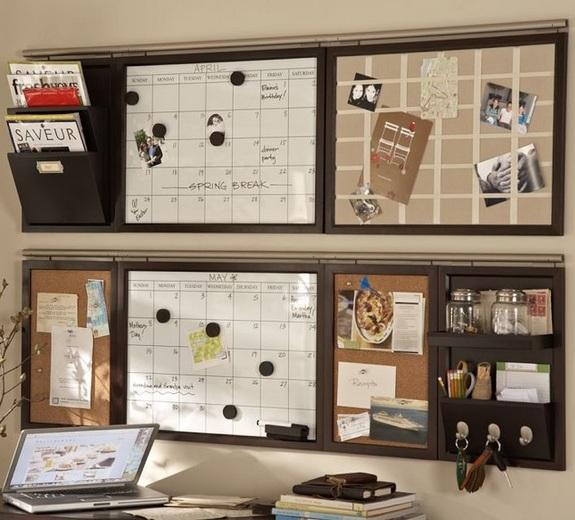 15 bedroom organization ideas diy with inspirational for Bulletin board organizer