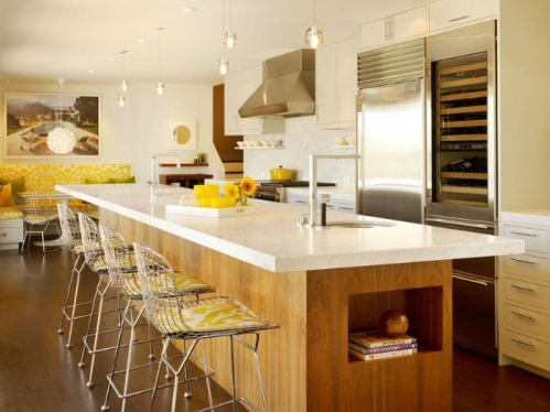 Sunflower kitchen decor ideas to brighten up your kitchen for Kitchen theme ideas