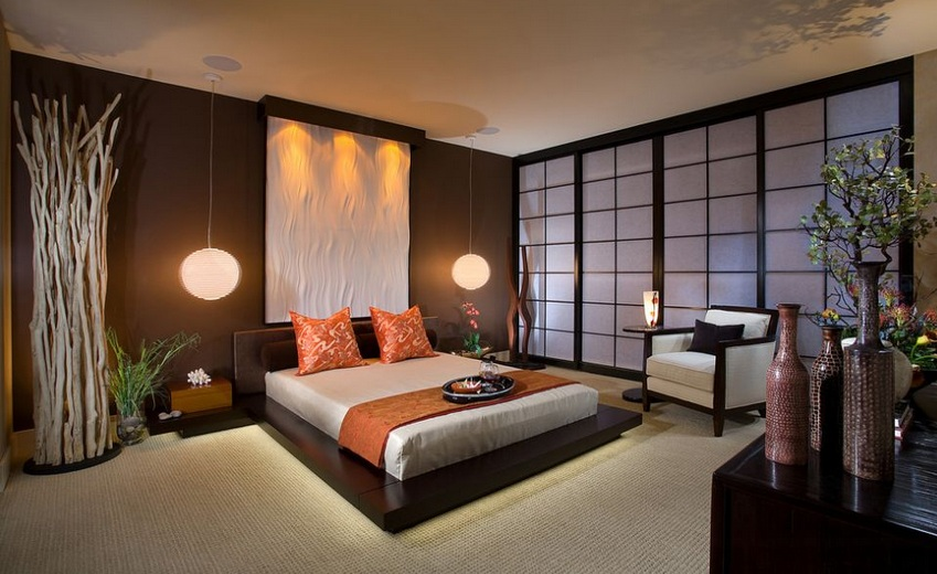 19 bedroom japanese style and design inspiration - Modern japanese bedroom furniture ...