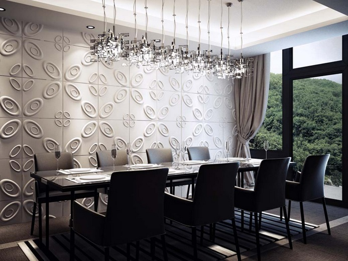 Modern dining room wall decor ideas | Decolover.net