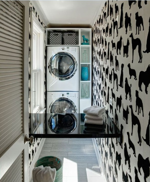 Small laundry room ideas and decoration - Laundry rooms for small spaces decoration ...