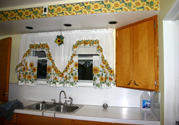 Minimalist Sunflower Kitchen Theme Decor Ideas And Other Related Images  Gallery: