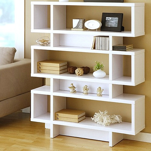 Living room shelves design ideas to boost your decoration for Living room shelves