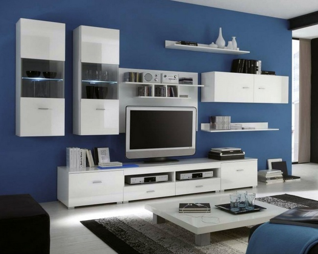 White wood living room furniture ideas - Black livingroom furniture ...