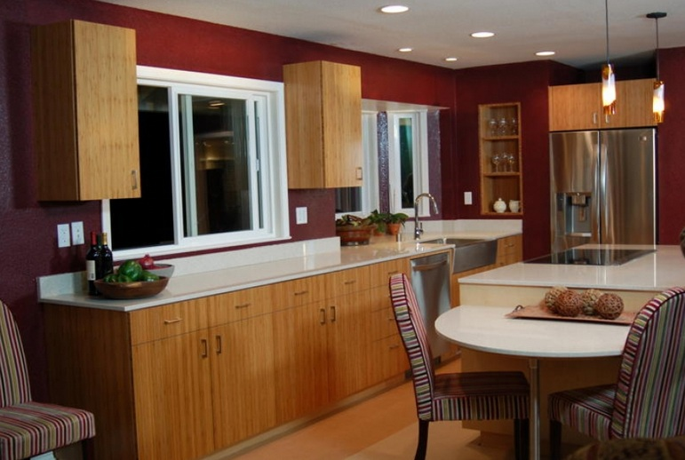 Tips For Kitchen Color Ideas: Wine Themed Kitchen Paint Ideas