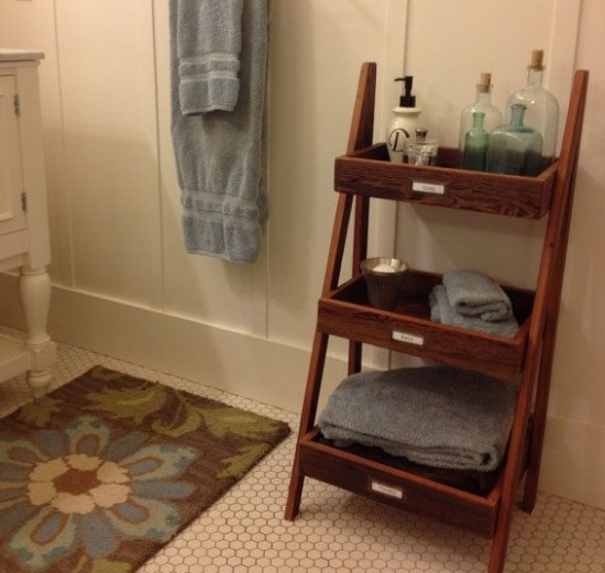 Towel storage ideas for functional bathroom and decor for Towel storage for bathroom ideas