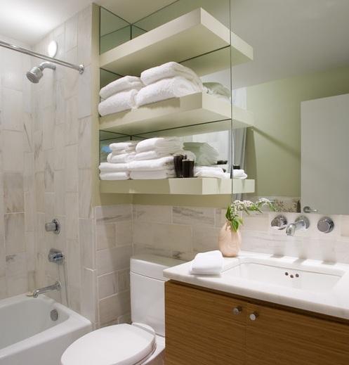 Black wooden free standing bathroom shelf over toilet ideas for Wooden bathroom mirror with shelf