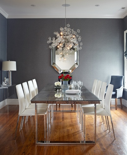 Modern rectangle dining room chandeliers for Dining room chandeliers contemporary