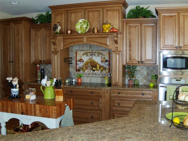 Italian Kitchen Decor For Classic And Artistic Decor