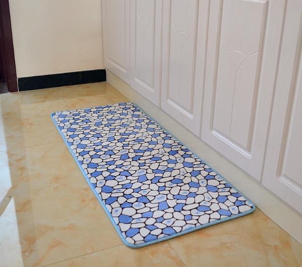 Blue Kitchen Floor Mats: Kitchen Decorative Mats For Wooden Kitchen Floor