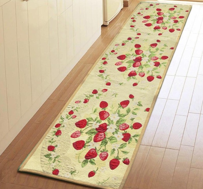 strawberry kitchen decoration with strawberry kitchen rugs - Strawberry Kitchen Decoration