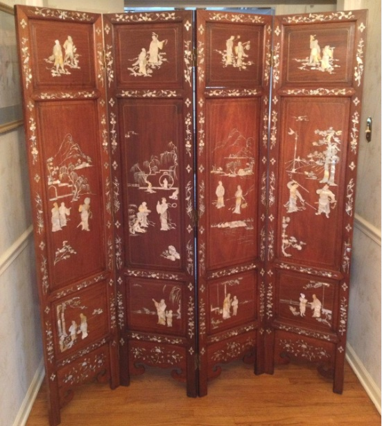 Antique Asian Screen Room Dividers Migrant Resource Network