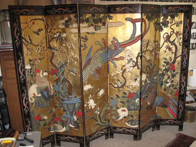 Best Oriental Wood Screens ~ Asian screen room divider to divide your decolover
