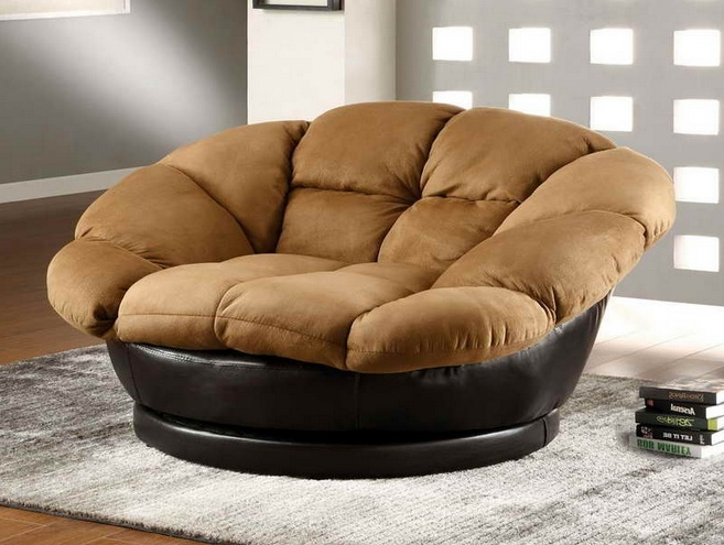 Oversized Swivel Chair For Living Room With Cushion And Other Related  Images Gallery: Part 66