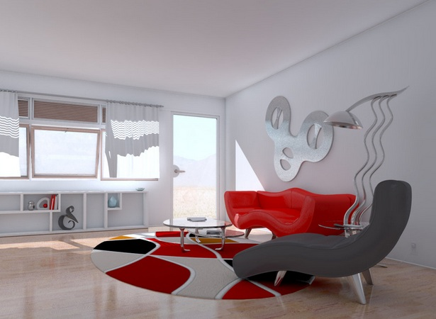 Contemporary Wall Decorations For Living Room With Metal Wall Art