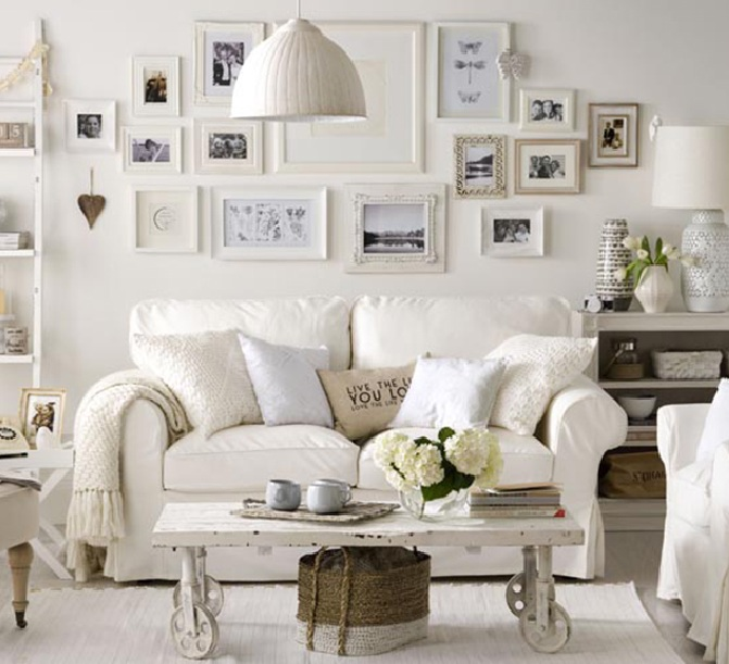 Country chic living room designs - Trendy living room designs ...