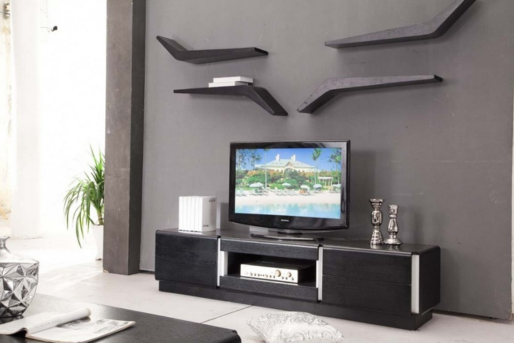 Decorating Around A Tv With Decorative Wall Shelf Decolover Net