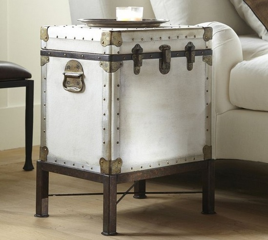 Decorative Tables For Living Room U2013 Trunk Side Table