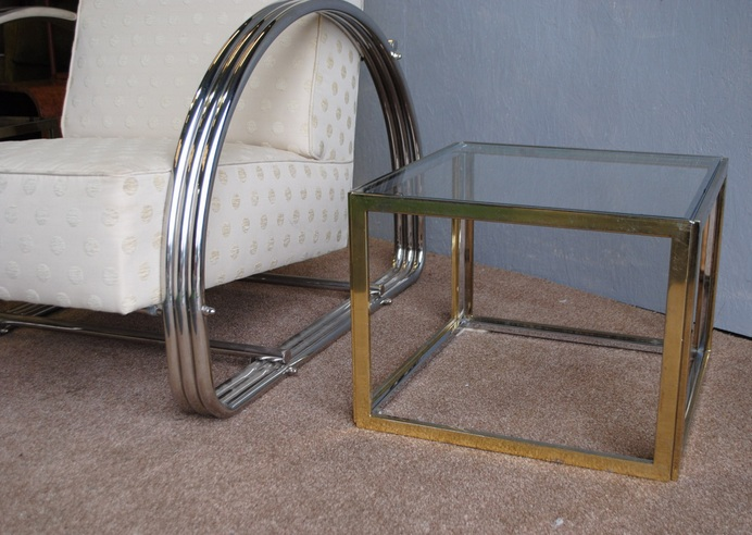 Glass side tables for living room with luxury table legs ...