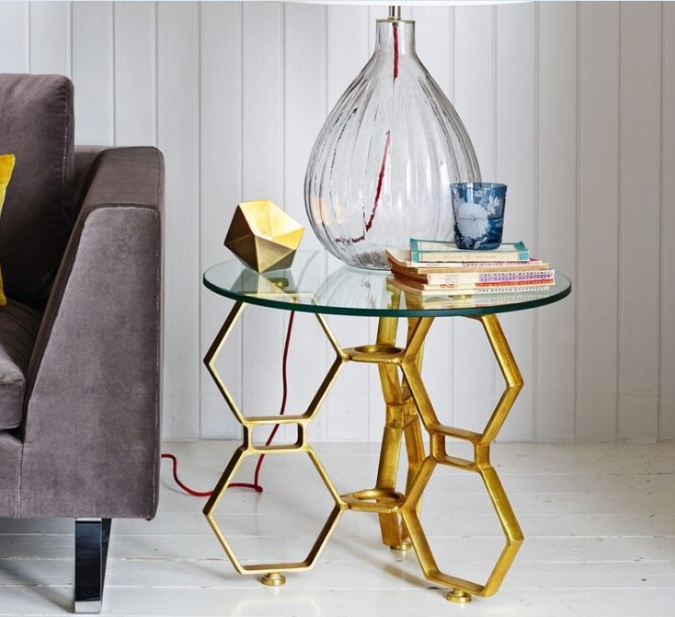 glass side tables for living room to adorn your living