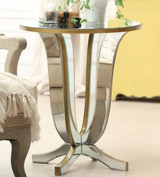 Glass side tables for living room with wheel - Glass tables for living room ...