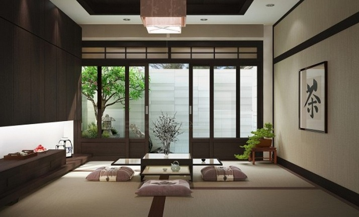Japanese style living room for traditional look for Living room ideas zen